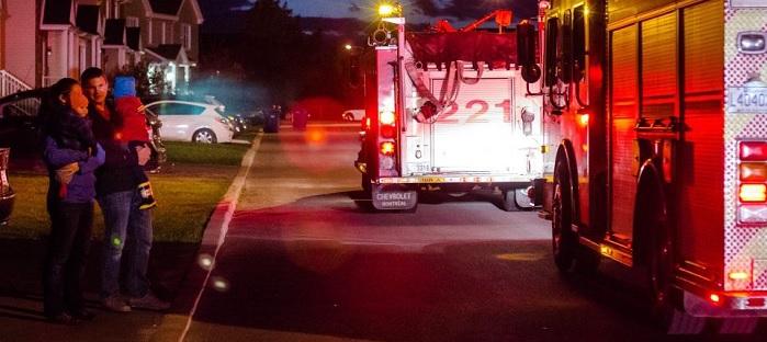 pompiers grande evacuation 2015 a Valleyfield Photo courtoisie SdV