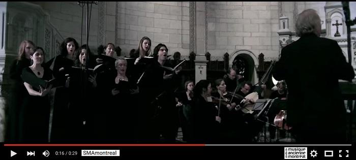 SMA_Montreal Studio de musique ancienne Montreal extrait video YouTube promo SMA_Montreal