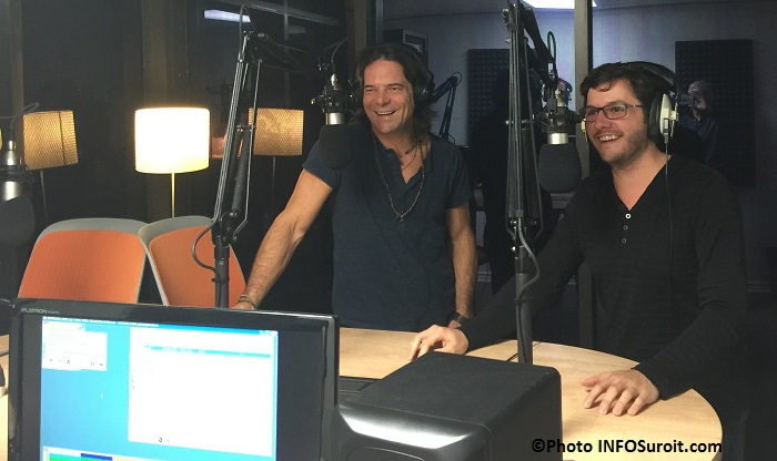 Rick_Hugues Marc-Andre_Fortin lancement radio Max103 Photo INFOSuroit_com