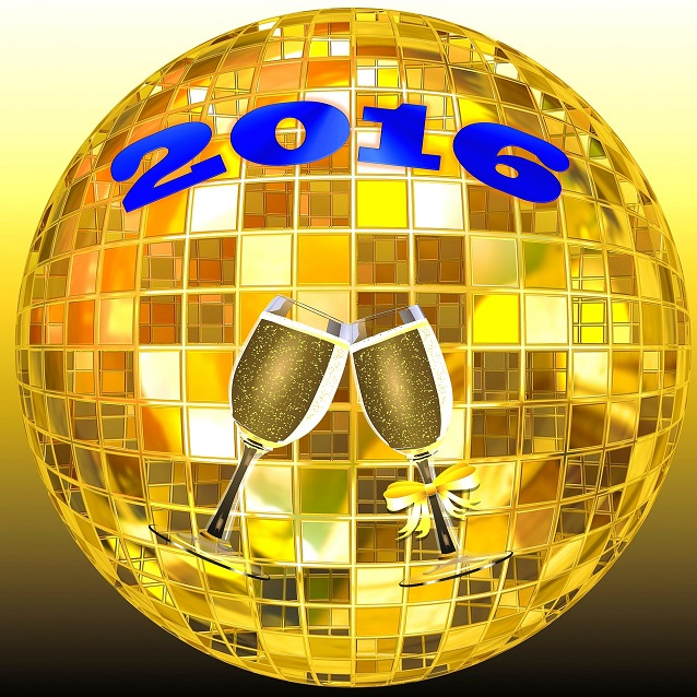 celebration bonne annee 2016 coupes champagne Image Pixabay via INFOSuroit_com