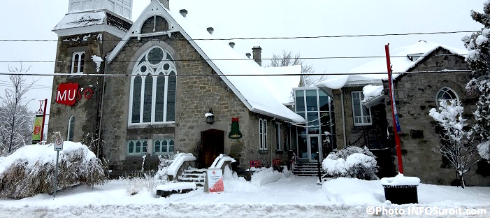 MUSO musee a Salaberry-de-Valleyfield hiver Photo INFOSuroit_com