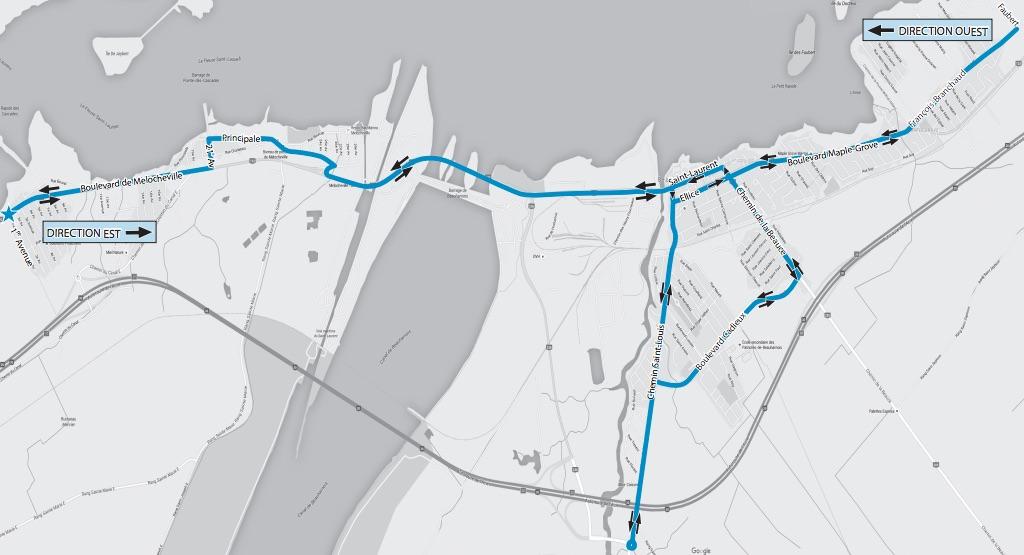 autobus circuit gratuit dans Beauharnois Image courtoisie