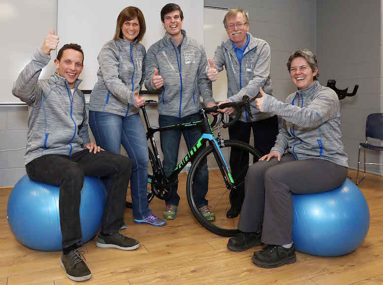 equipe cyclistes Vie en forme Photo courtoisie publiee par INFOSuroit_com