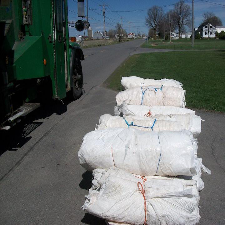 pellicules plastiques agricoles recyclage Photo MRC BhS