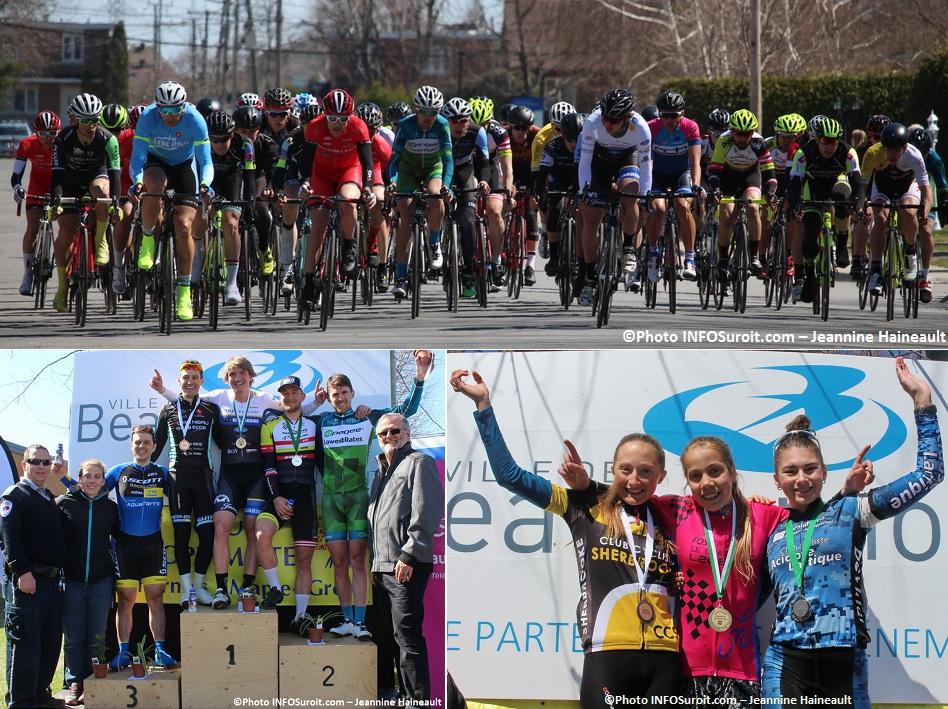Criterium Beauharnois course et podium Open et podium Cadette Photos INFOSuroit-Jeannine_Haineault