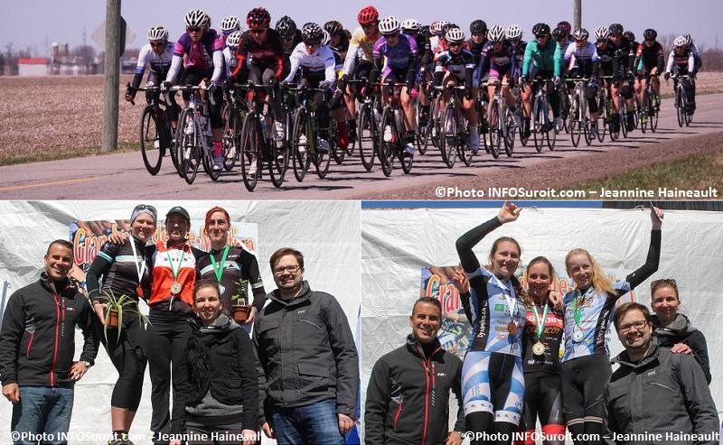 GP de Ste-Martine femmes podium Maitre 1 F et Junior F Photos INFOSuroit-Jeannine_Haineault