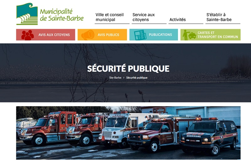 extrait site internet Sainte-Barbe-page-securite-publique