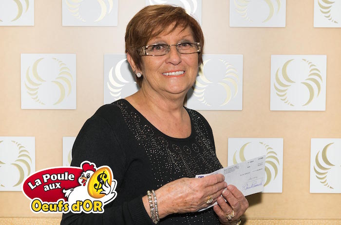 gagnante loterie poule aux oeufs d or Lise_Laurin Beauharnois Photo courtoisie