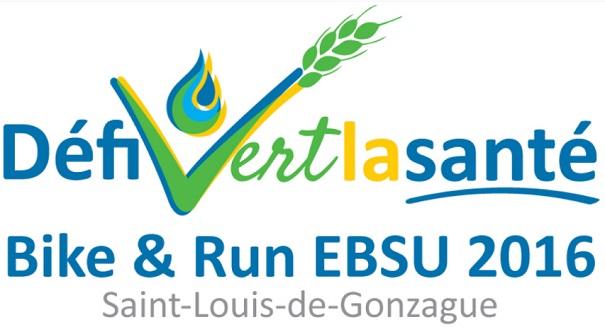 logo Defi vert la sante Bike and Run St-Louis-de-Gonzague