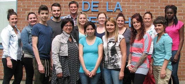 CFP-Pointe-du-Lac eleves participants projet Cafe des 2 pains photo courtoisie CFPPDL