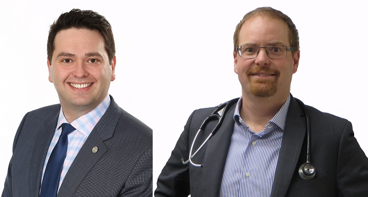 Gino_Napoleoni et docteur Francois_Lemieux Photos courtoisie FHS