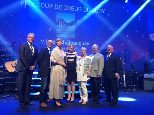 Merite Ovation municipale 2016 a Chateauguay Photo courtoisie