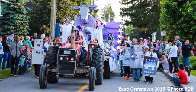 Expo_Ormstown parade 2015 Photo PBD via site Web expoormstown_com
