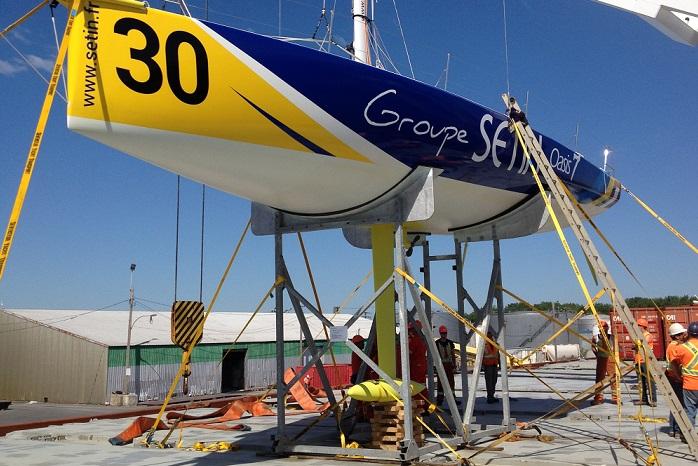 Voilier Groupe Setin employes Valport au Port de Valleyfield Photo courtoisie SPV
