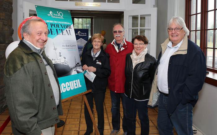 exposition 50 ans Port de Valleyfield des elus et invites Photo courtisie