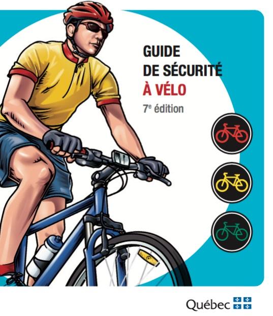 Guide de securite a velo via site Web SAAQ