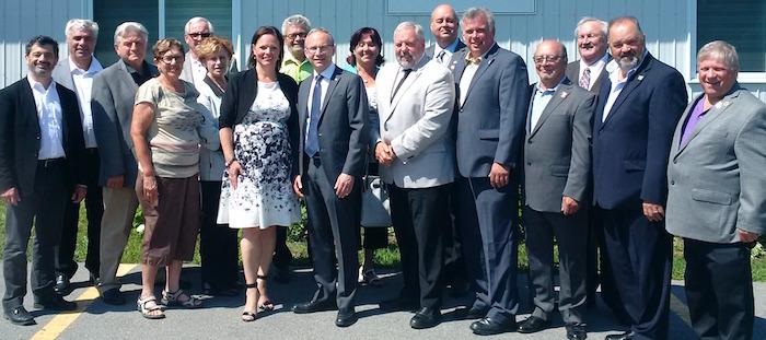 Lucie_Charlebois Martin_Coiteux et des maires MRC Vaudreuil-Soulanges Photo courtoisie