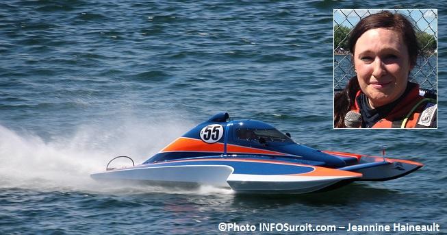 Regates course 2 point 5 litres gagnante Alexis_Weber hydroplane S55 Photos INFOSuroit-Jeannine_Haineault