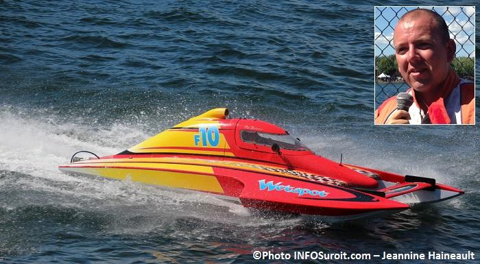 Regates course Formule 2500 gagnant Rob_Stevenson Wet Spot F10 Photos INFOSuroit-Jeannine_Haineault