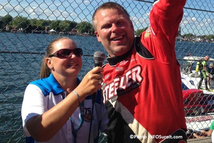 Regates course Grand Prix gagnant Bert_Henderson GP777 Steeler Photo INFOSuroit_com