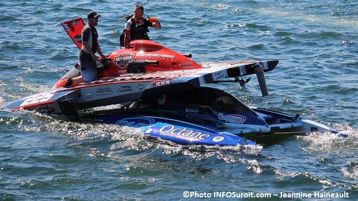 Regates course Hydro 350 accident H225 et H32 Photo INFOSuroit-Jeannine_Haineault