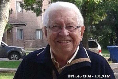 ex-maire de Chateauguay Philippe_Bonneau soiree de ses 85 ans 2015 Photo CHAI 101-9 FM