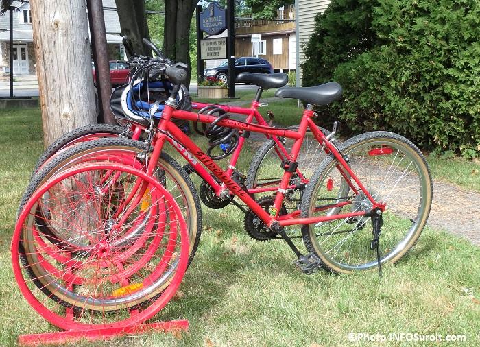 velo-culture bicyclettes devant Musee regional Vaudreuil-Soulanges Photo INFOSuroit
