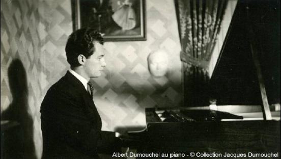 AlbertDumouchel au piano Photo Collection Jacques_Dumouchel courtoisie MUSO