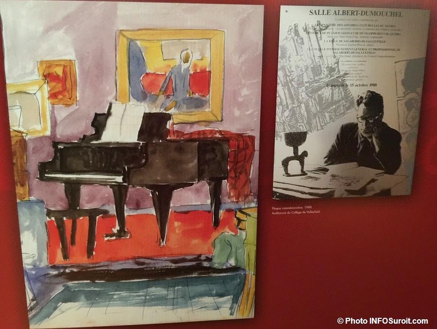 AlbertDumouchel exposition au MUSO a Valleyfield Photo INFOSuroit