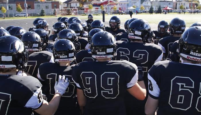 College Valleyfield equipe football Noir et Or photo courtoisie