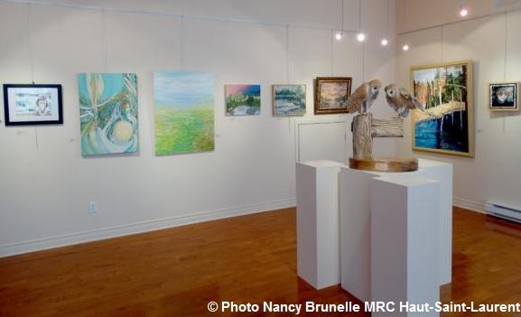Journee-de-la-culture exposition salle-Alfred_Langevin Photo Nancy_Brunelle MRC HSL