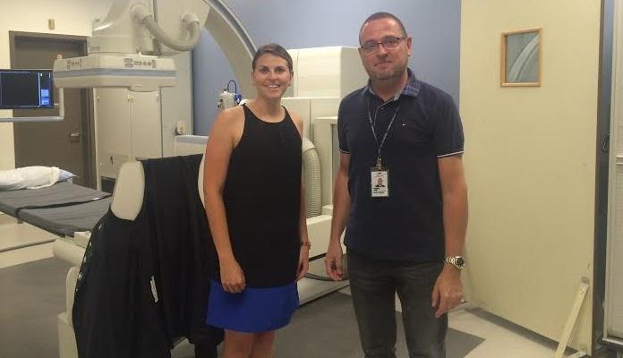 K_Favreau_O_Brien DG Fondation Hopital du Suroit et Dr G_Szabo chef radiologiste photo courtoisie