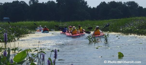 Kayak Beauharnois Salaberry Iles de la Paix photo INFOSuroit
