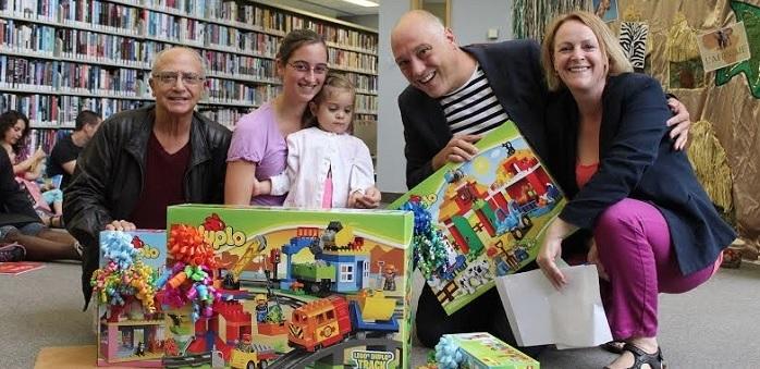 R_Gabrielle gagnante K_Internoscia avec sa mere M_Vallee et A_Lemay Photo courtoisie VD