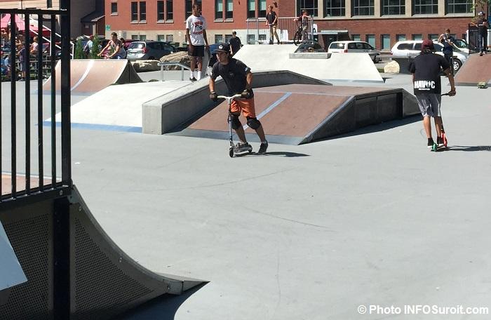 SkatePark a Beauharnois SkateFest 2016 avec riders Photo INFOSuroit_com