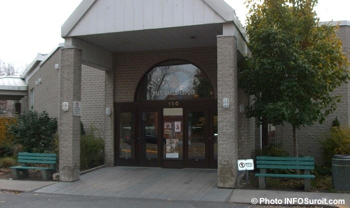 centre communautaire Paul-Emile-Lepine Ile-Perrot Photo INFOsuroit