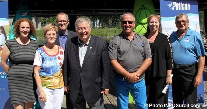 maire Valleyfield elus municipaux et dirigeants Pelican Internation Photo INFOSuroit