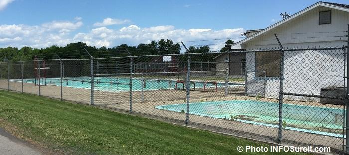pataugeoire et piscine fermees a Ormstown Photo INFOSuroit