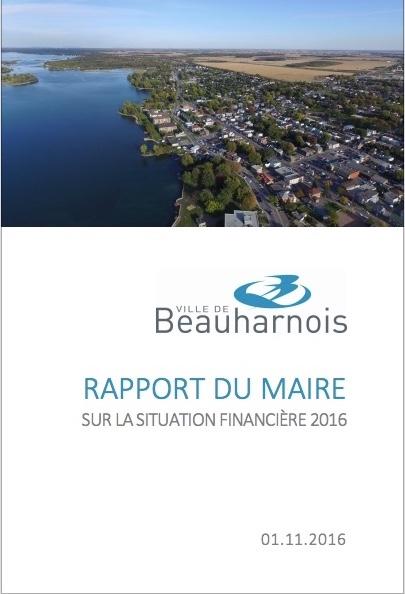 beauharnois-rapport-du-maire-nov2016-situation-financiere
