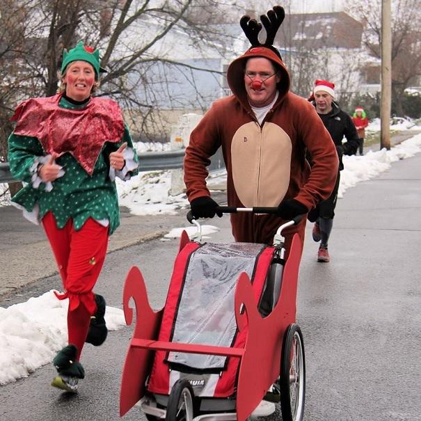Des sourires et 2 850 $ pour la 7e Course/Marche de Rudolphe