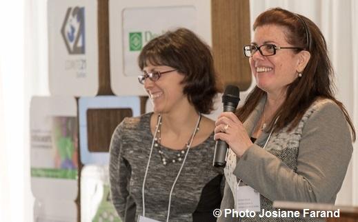 Caroline_Voyer et Lorraine_Simard formation evenements ecoresponsable Photo Josiane_Farand courtoisie Comite21