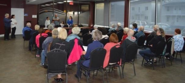 comite des refugies du Suroit assemblee publique Valleyfield juin 2016 Photo courtoisie