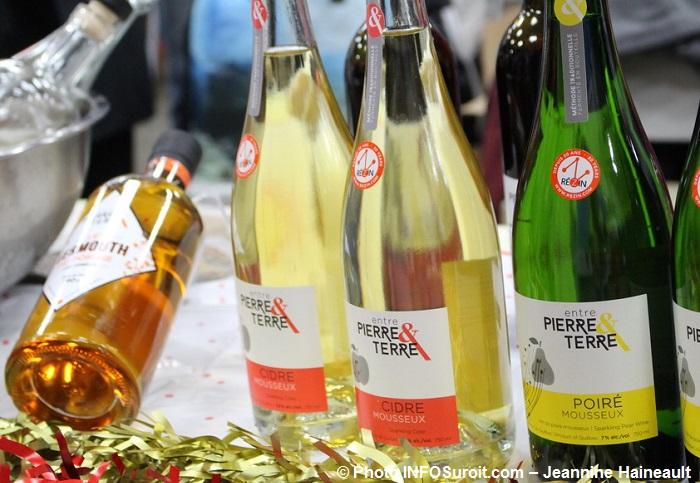 marche fermier comte Huntingdon cidre bouteilles Entre_Pierre_et_Terre Photo INFOSuroit-Jeannine_Haineault