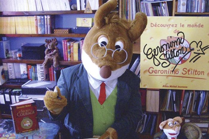 GeronimoStilton souris mascotte Photo courtoisie Albin_Michel
