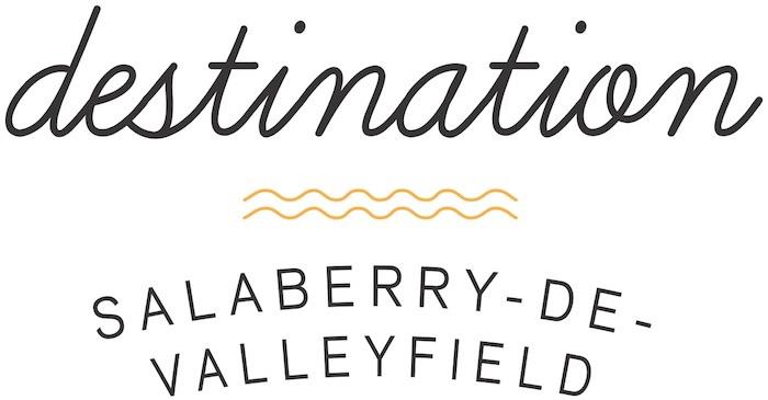 Logo Destination Valleyfield_contour blanc