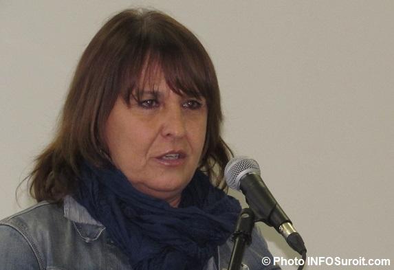LouiseLebrun mairesse Sainte-Barbe 24fev2017 Photo INFOSuroit