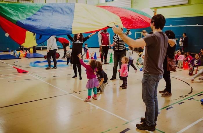 Parc ephemere enfants jeux parents Copyright KristinaBastien via Ville de Chateauguay