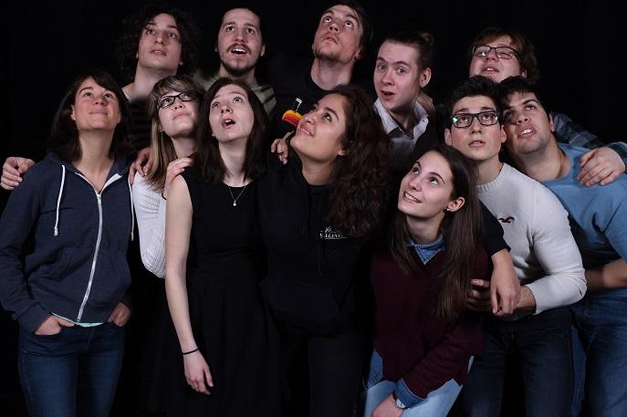 etudiants theatre Troupe Principale 2017 College de Valleyfield photo courtoisie