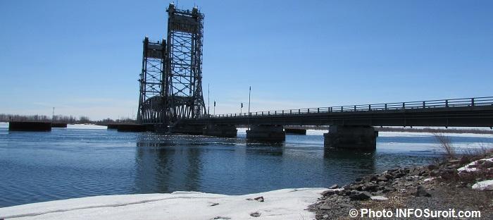 pont Saint-Louis-de-Gonzague hiver Photo INFOSuroit