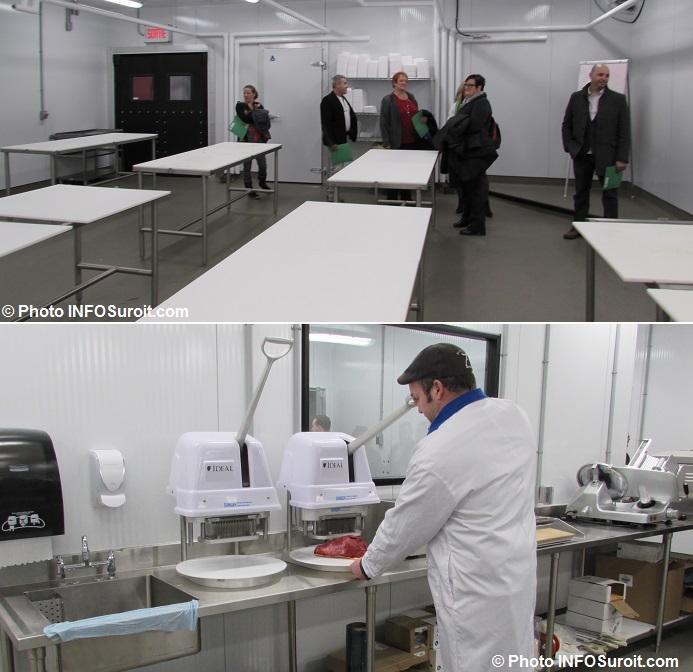 salle classe Boucherie au CFP Pte-du-Lac et coupe viande Photos INFOSuroit